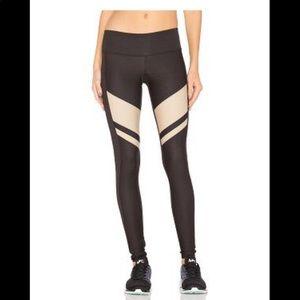 NWOT Splits59 Black & Tan Workout Pants M